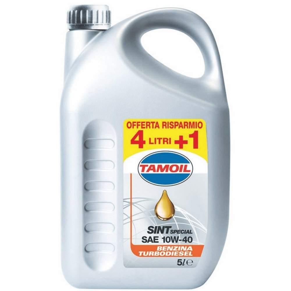 Olio auto 5 litri tamoil 10w-40 semi sintetico