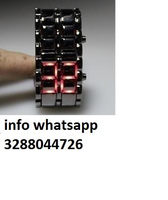 orologio da polso nuovo digitale nero