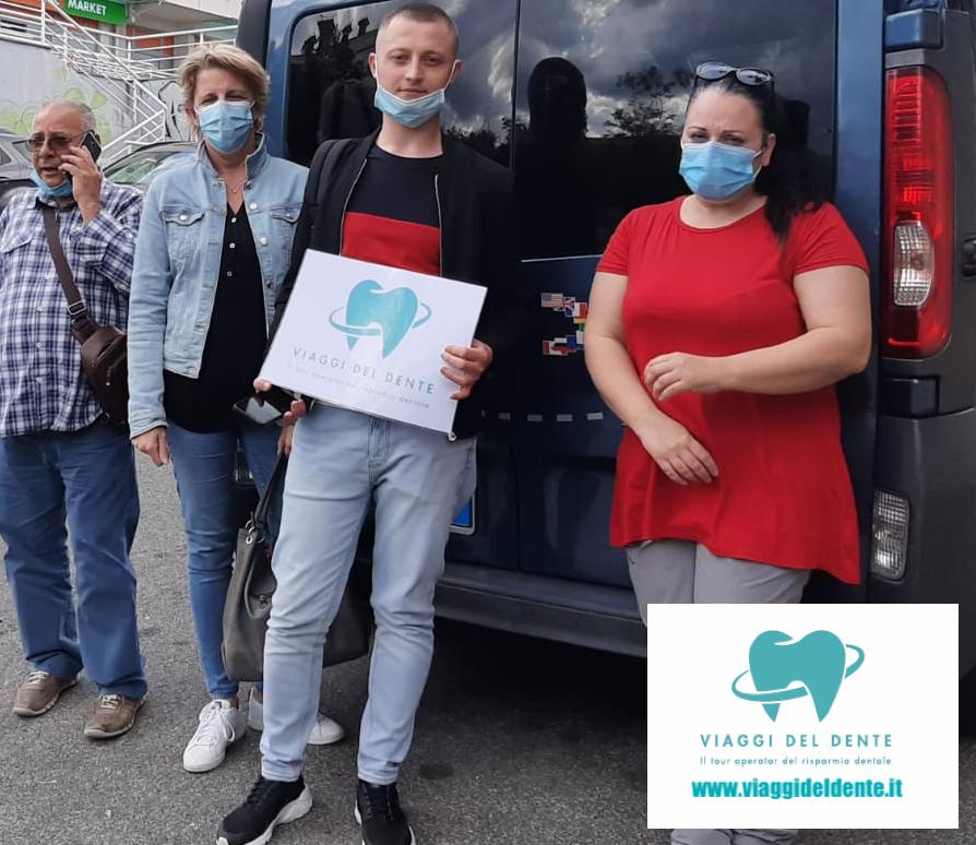 Pulmino dentisti in Croazia