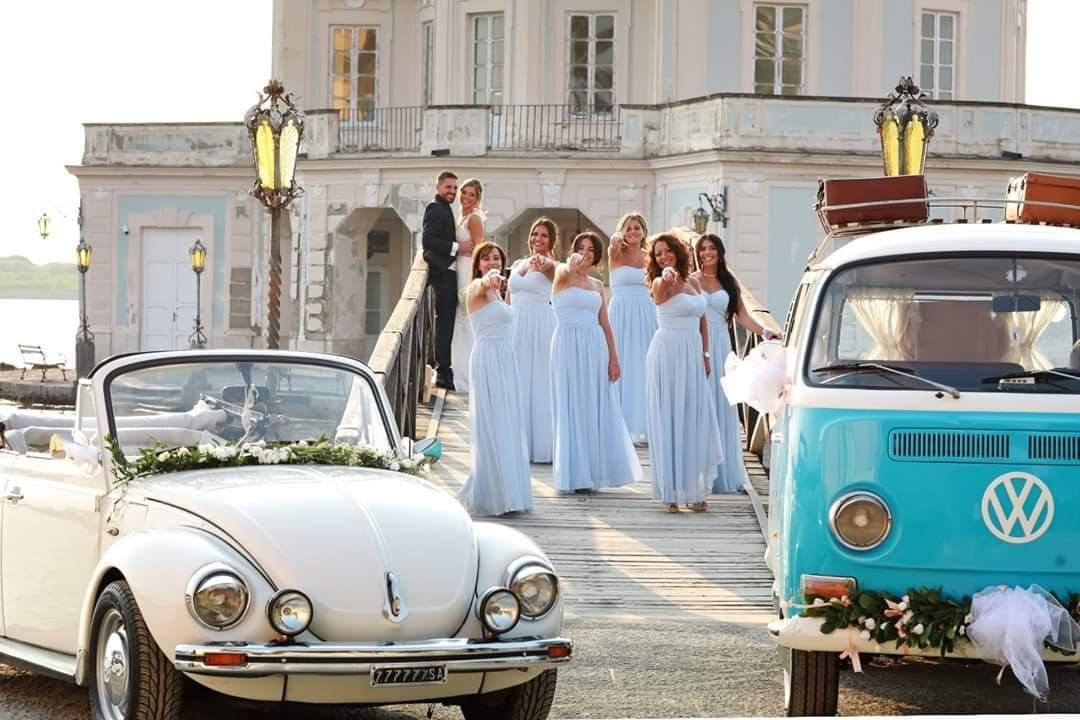 Noleggio pulmino volkswagen per matrimonio