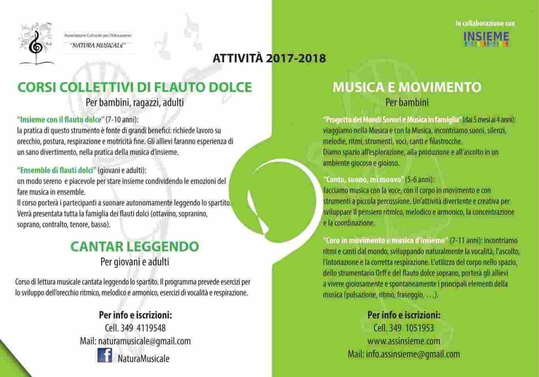 Corsi musicali per tutte le età Padova