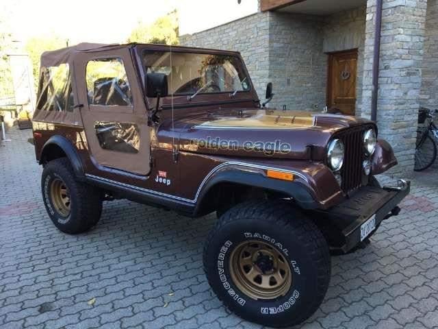Jeep CJ-7 5.0 V8 Golden Eagle