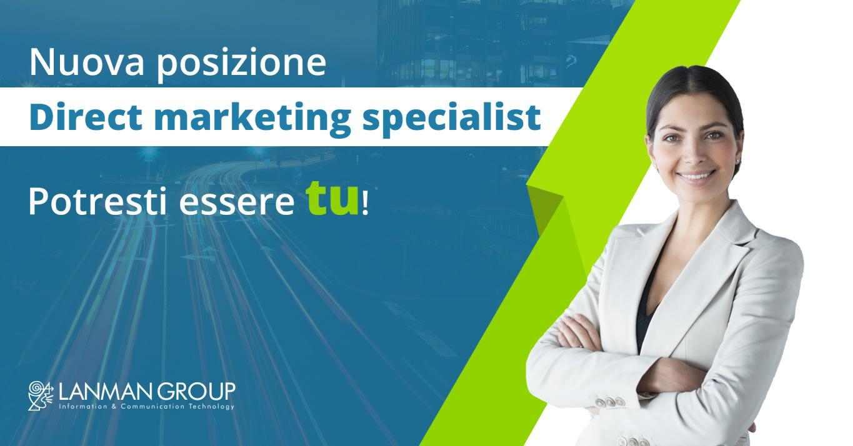 Direct marketing specialist