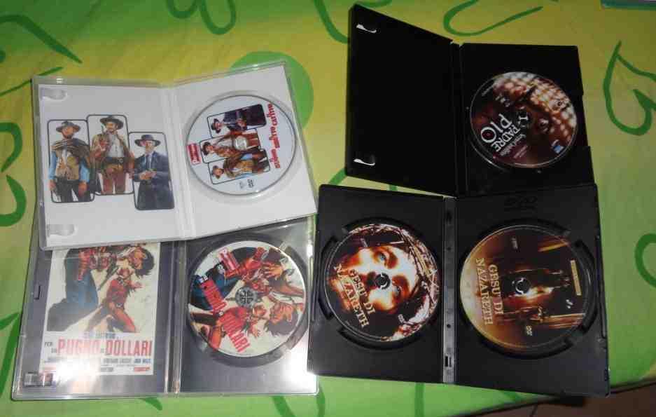 Ampio archivio di film e serie per lettori dvd