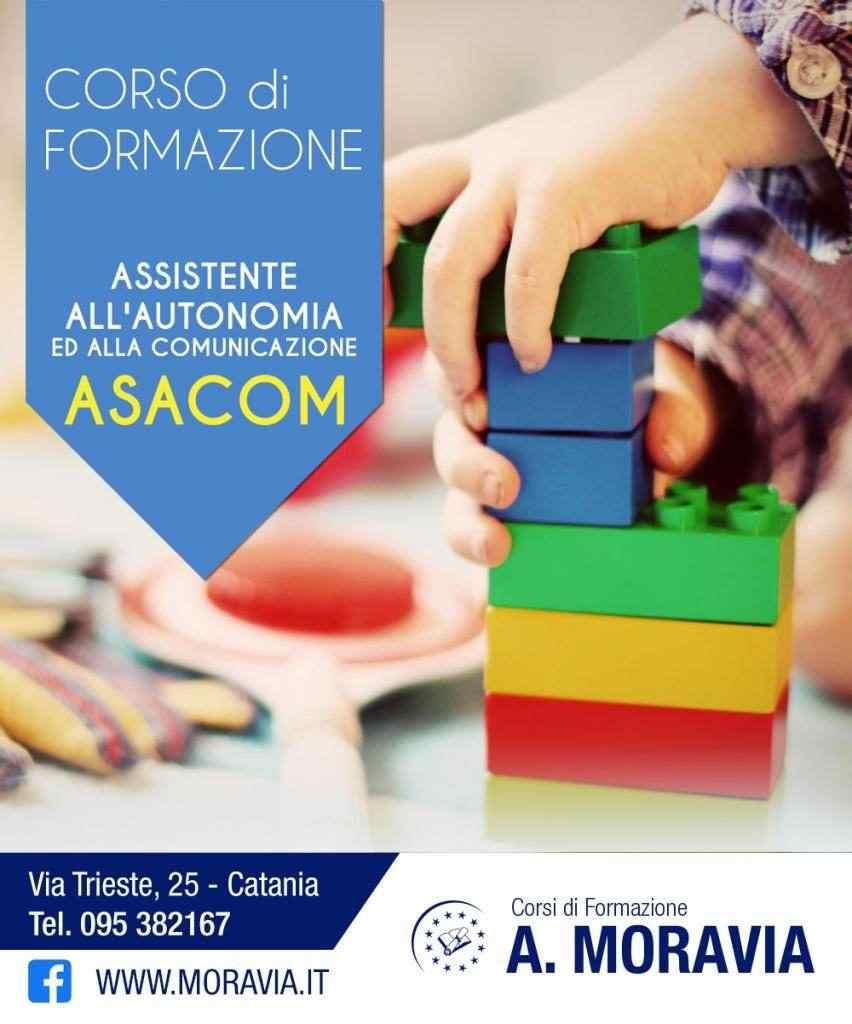 Corso ASACOM - Assistente all'Autonomia e alla Comunicazione