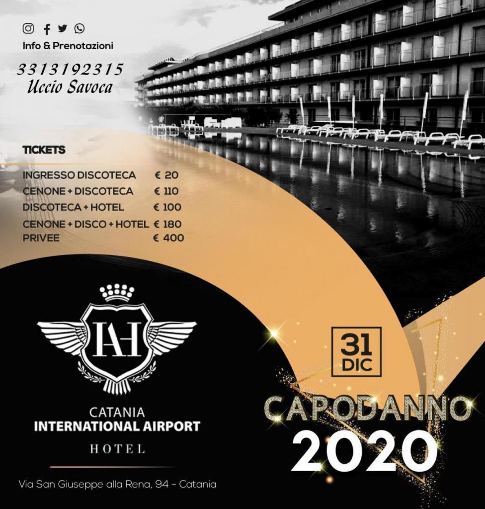 CAPODANNO 2020.HOTEL INTERNATIONAL AIRPORT