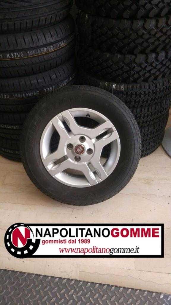 Cerchi pneumatici Fiat Panda 4x4 punto 14 pollici