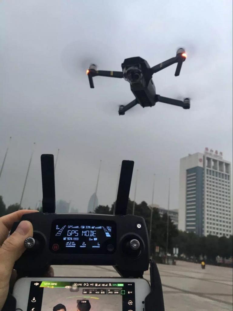 DJI Mavic Pro 4K Drone con Fly Più Combo con occhiali e monitor fav