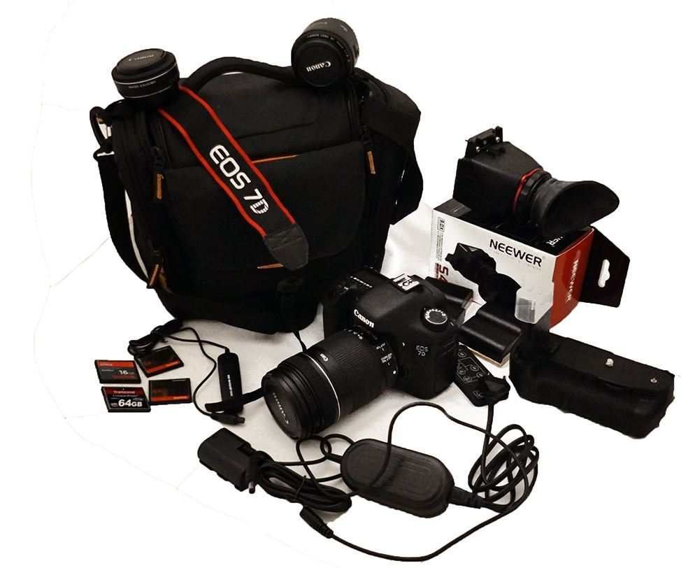 Canon eos 7D solo 1716 scatti!