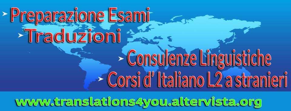 Servizio Traduzioni Lingue Europee
