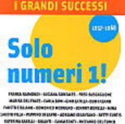 CD I GRANDI SUCCESSI SOLO NUMERI 1 NUOVO ORIGINALE