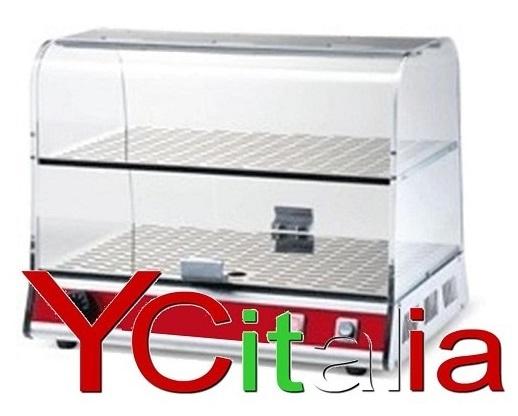 Vetrina calda per brioches 500x355x405