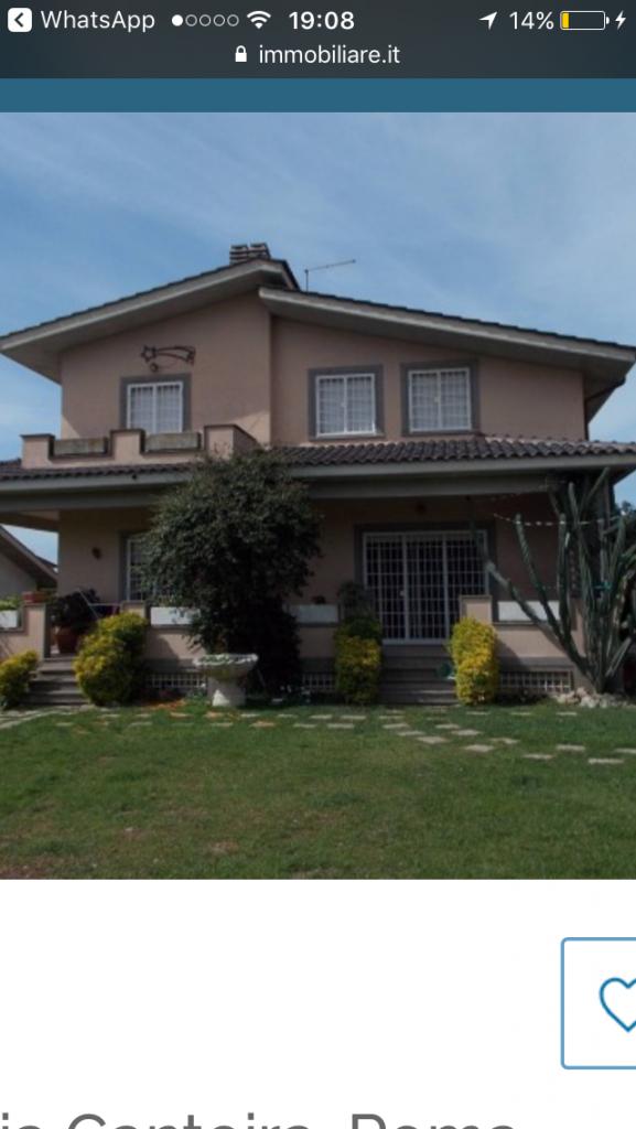 Villa 200 mq zona casal del marmo
