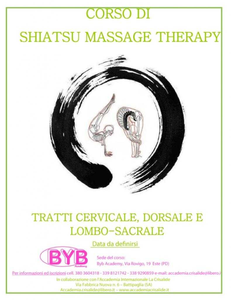 Corso di Shiatsu Massage Therapy