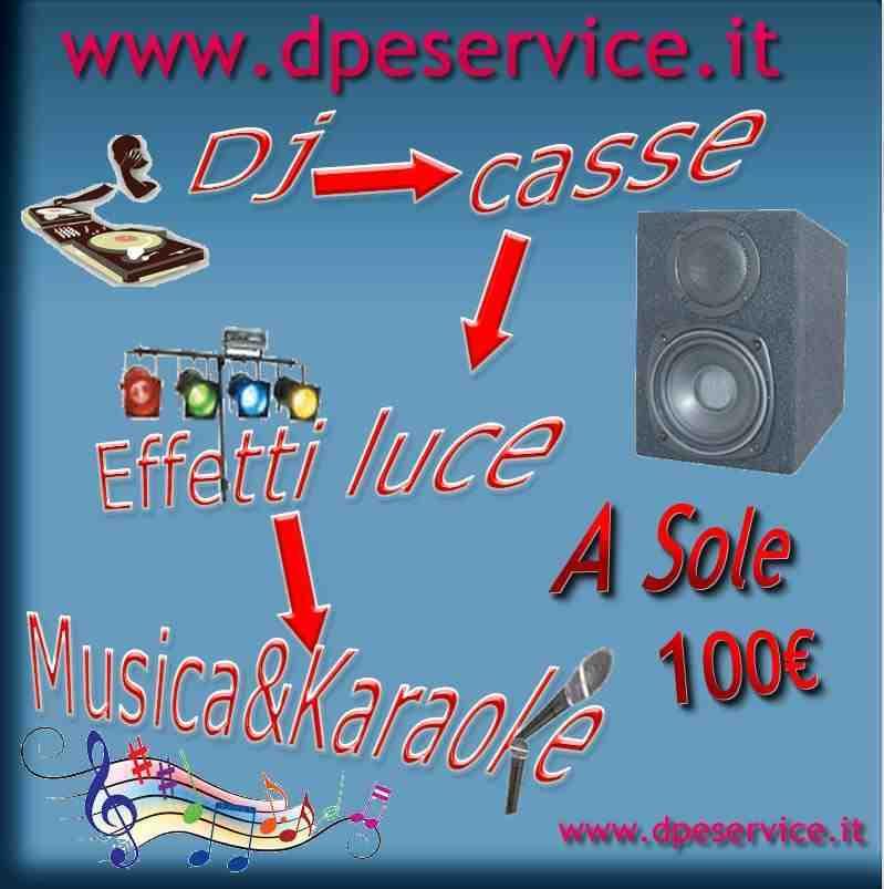 DJ per feste privare cerimoni in genere a 100€