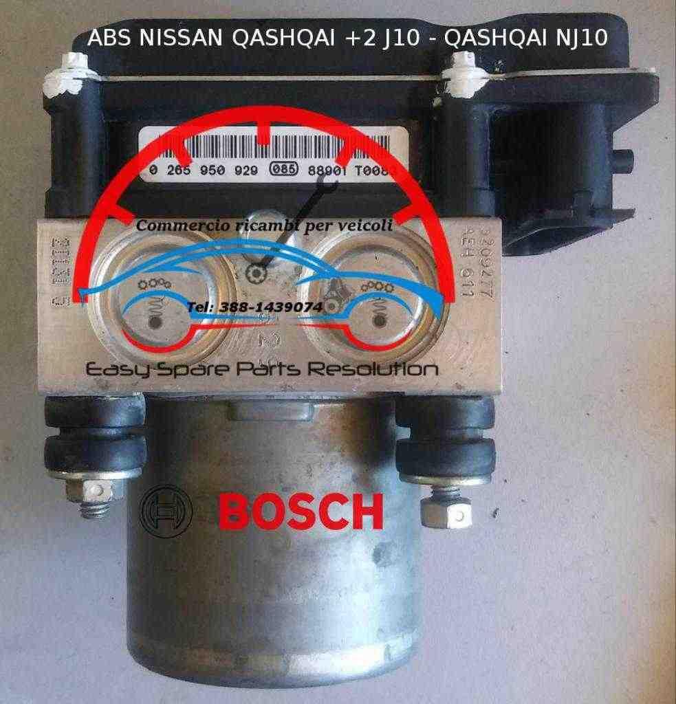 0265950929 0265230217 47660EY16A Abs Nissan Qashqai