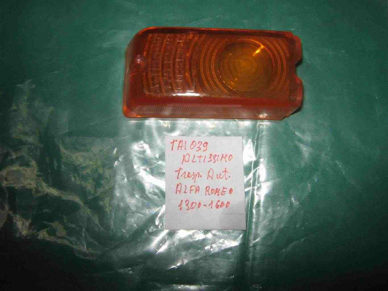 Trasparente anteriore arancio alfa romeo giulia  d'epoca