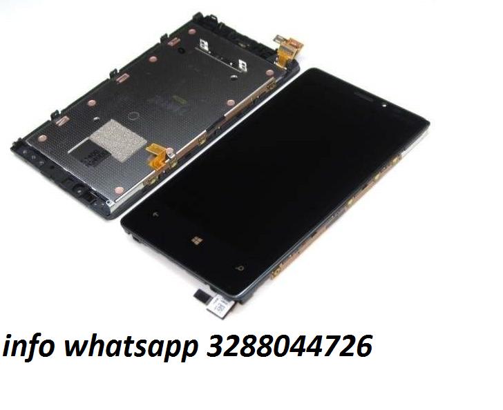 Vetro nokia lumia 820,800,710,720,610,900 touch screen + frame tutti i nokia altro