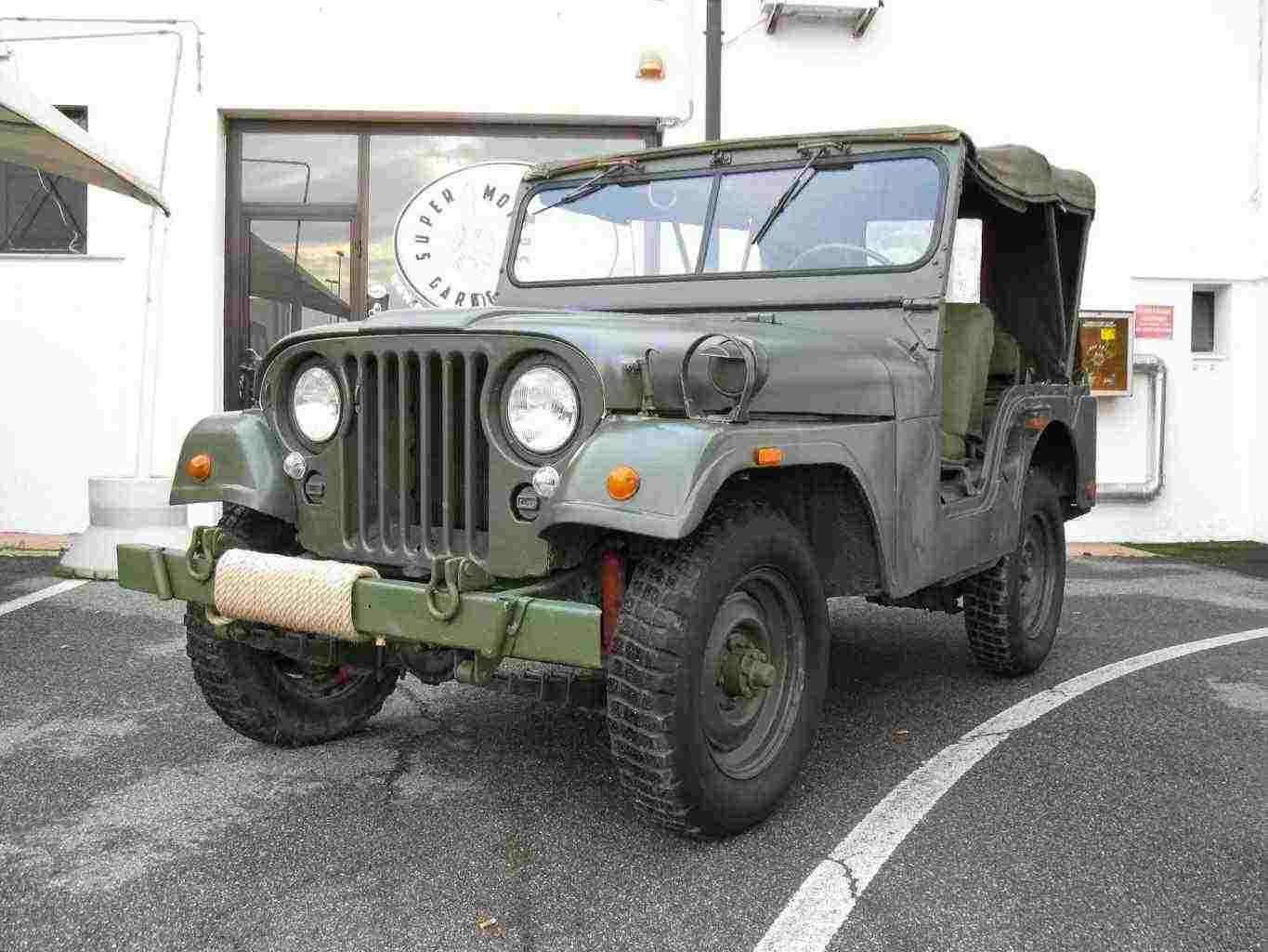 jeep willys A38 esercito USA