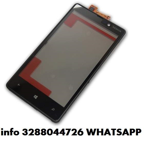 Vetro nokia lumia 820,800,710,720,610,900 touch screen + frame tutti i nokia