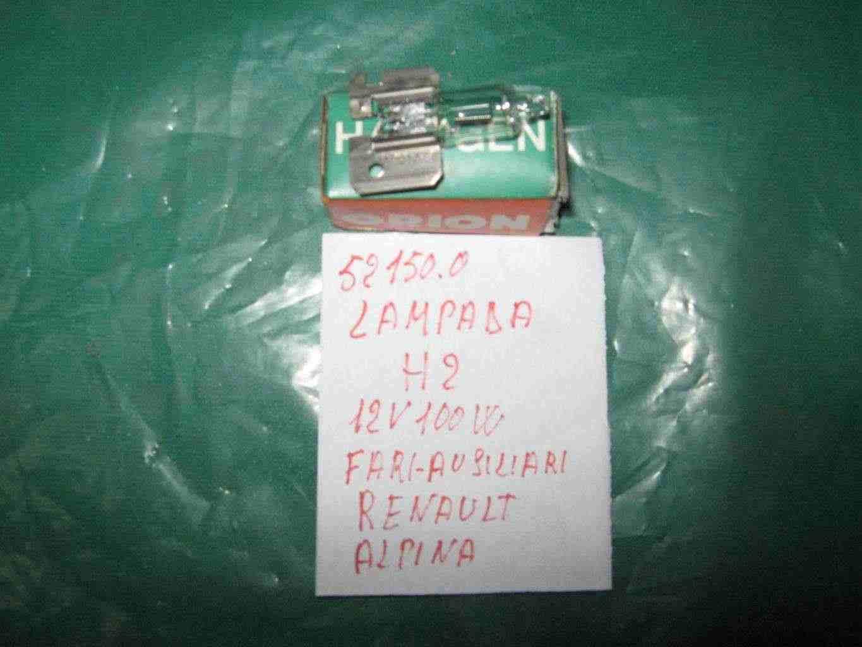 Lampade H1- 100 w  H2  100w -H3 110w per proiettori