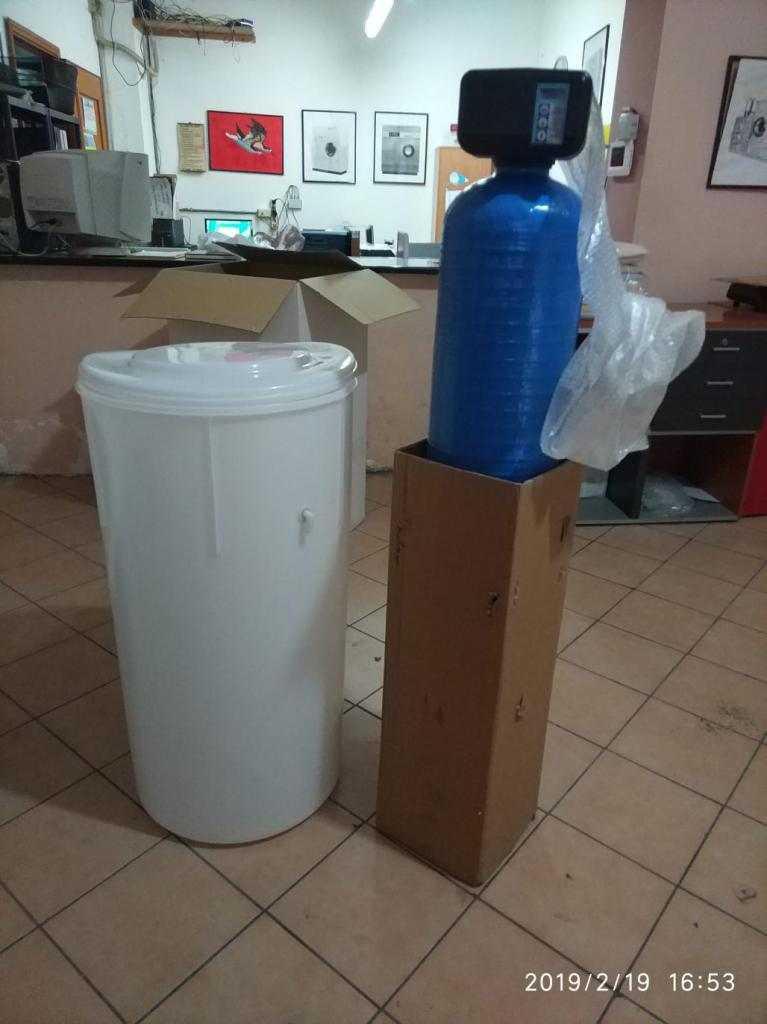 addolcitore acqua 50lt di resina NUOVO in pronta consegna