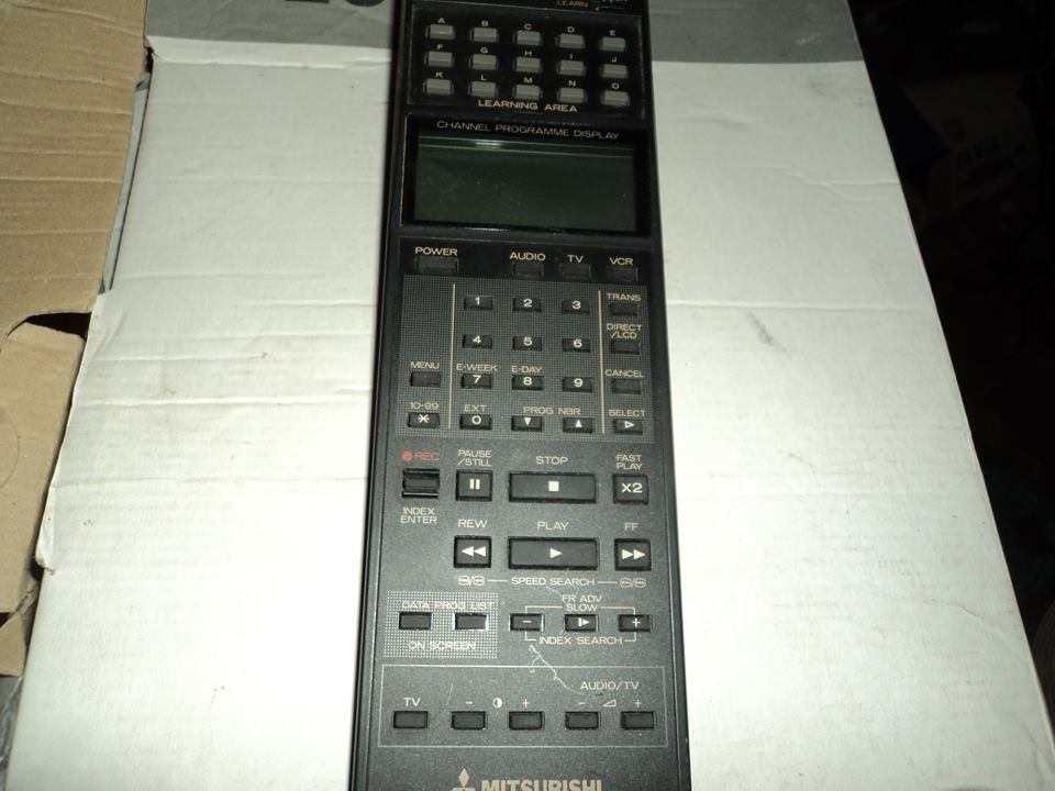 MITSUBISHI Telecomando Videoregistratore VHS