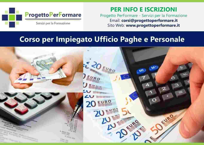 Corso per impiegato ufficio paghe e personale a Santa Maria Capua Vetere (CE)