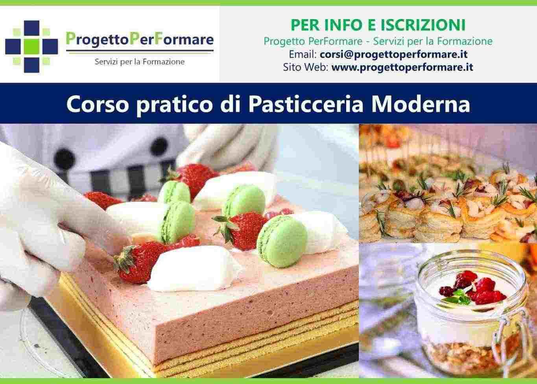 Corso di pasticceria moderna a Lugo (RA)
