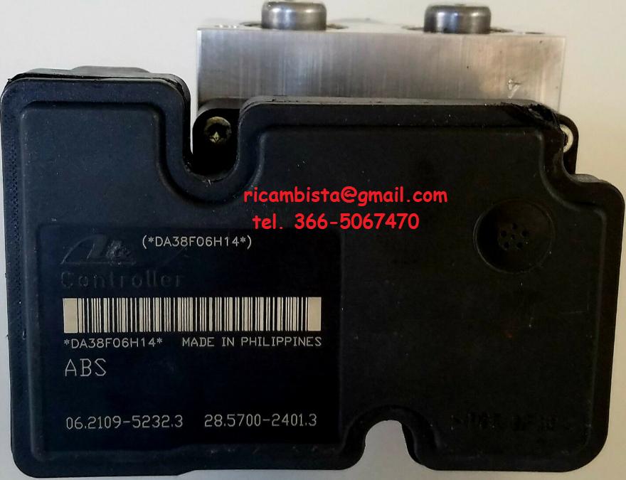 06.2109-5232.3 ABS gruppo pompa centralina Suzuki Swift