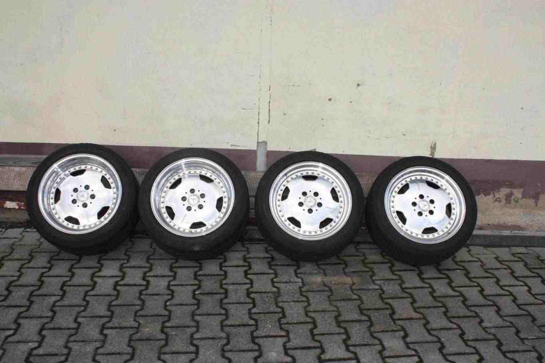 MERCEDES Benz r129 AMG Aero 3 assale ruote 8,5x17 e 10x17 LUCIDA costipata