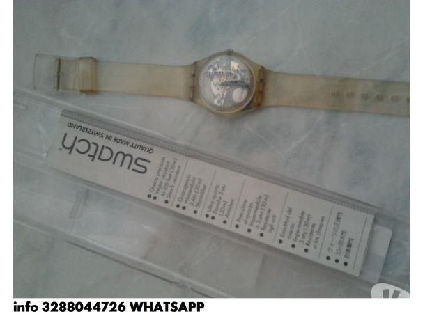 Orologio swatch da collezione usata