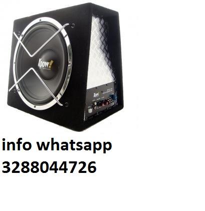 subwoofer attivo gx112-112a potenza max 2300 watt