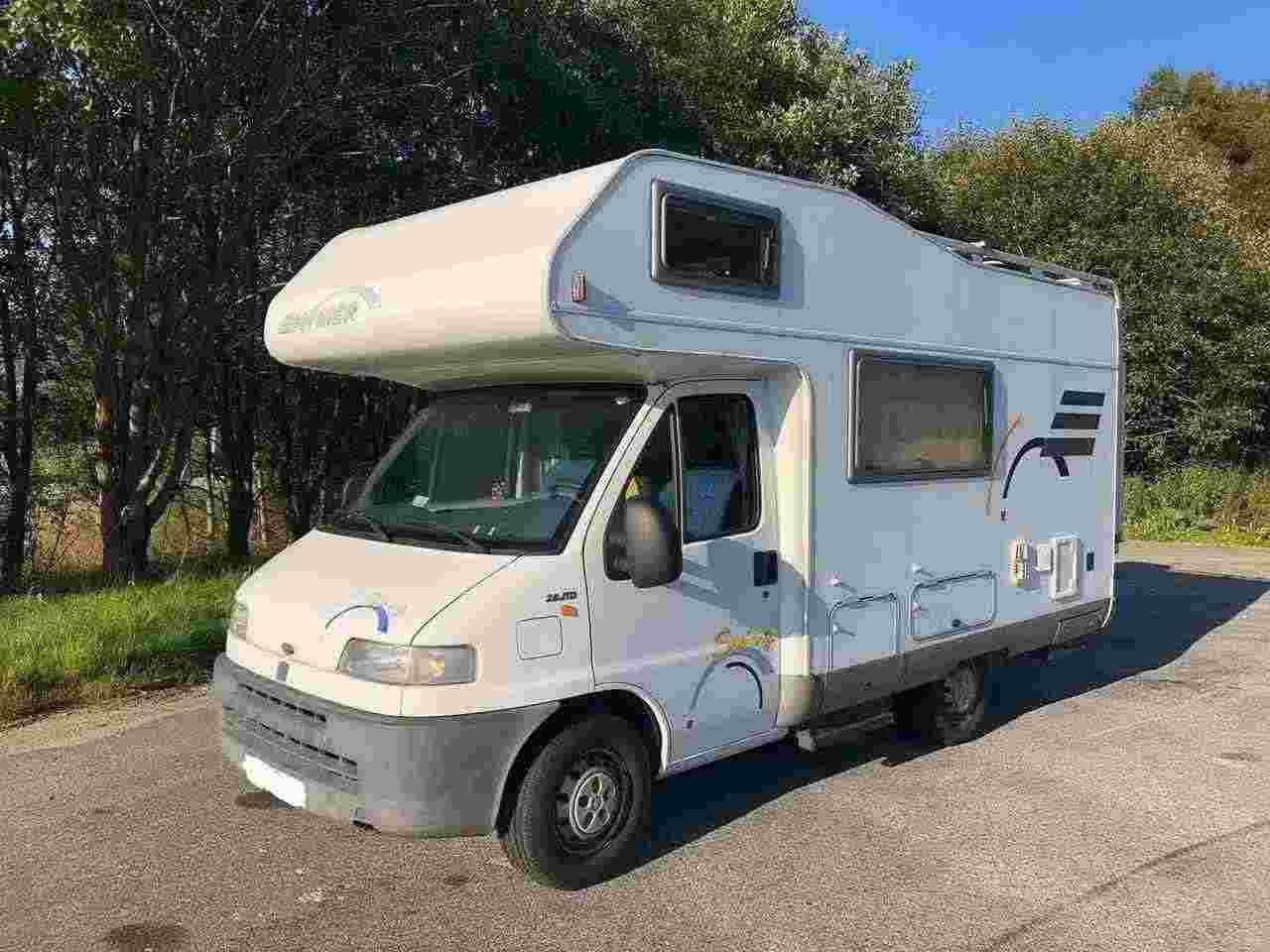 camper fiat hymmer vendita