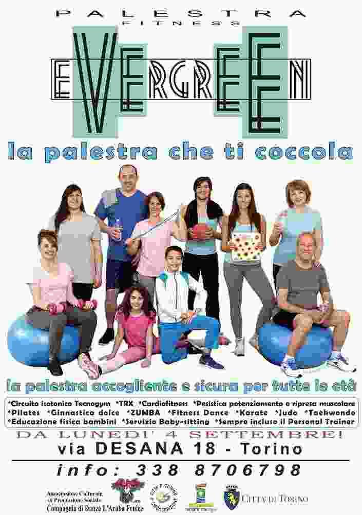 da luned' 4 settembre: Centro Fitness Evergreen - la Palestra che ti Coccola!