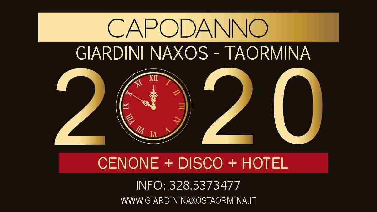 CAPODANNO 2020 Taormina Cenone Disco Hotel