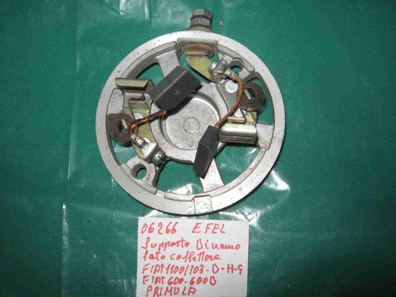 Supporto dinamo latro collettore fiat 1100-103 d'epoca