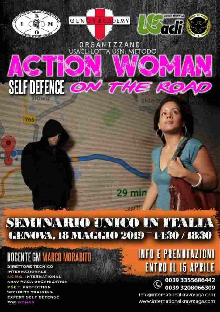 Action Woman - Self Defence on the road
