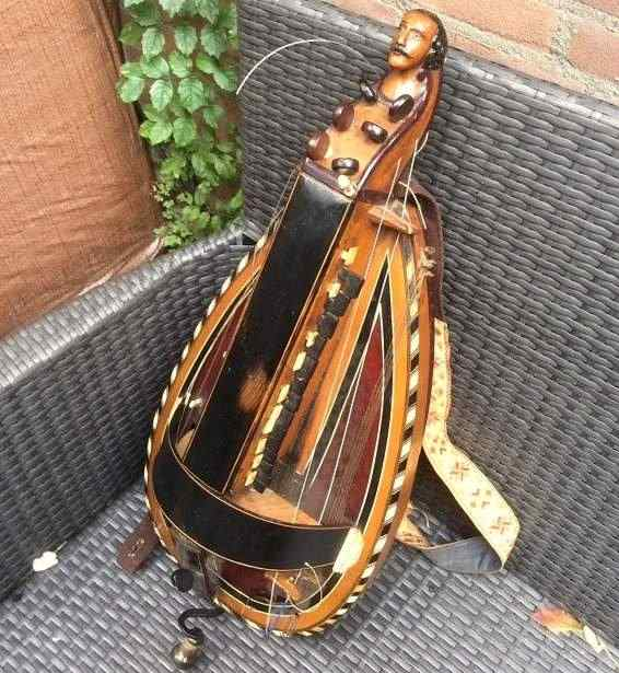 Hurdy Gurdy 1800 Luthier Pouget Ardentes