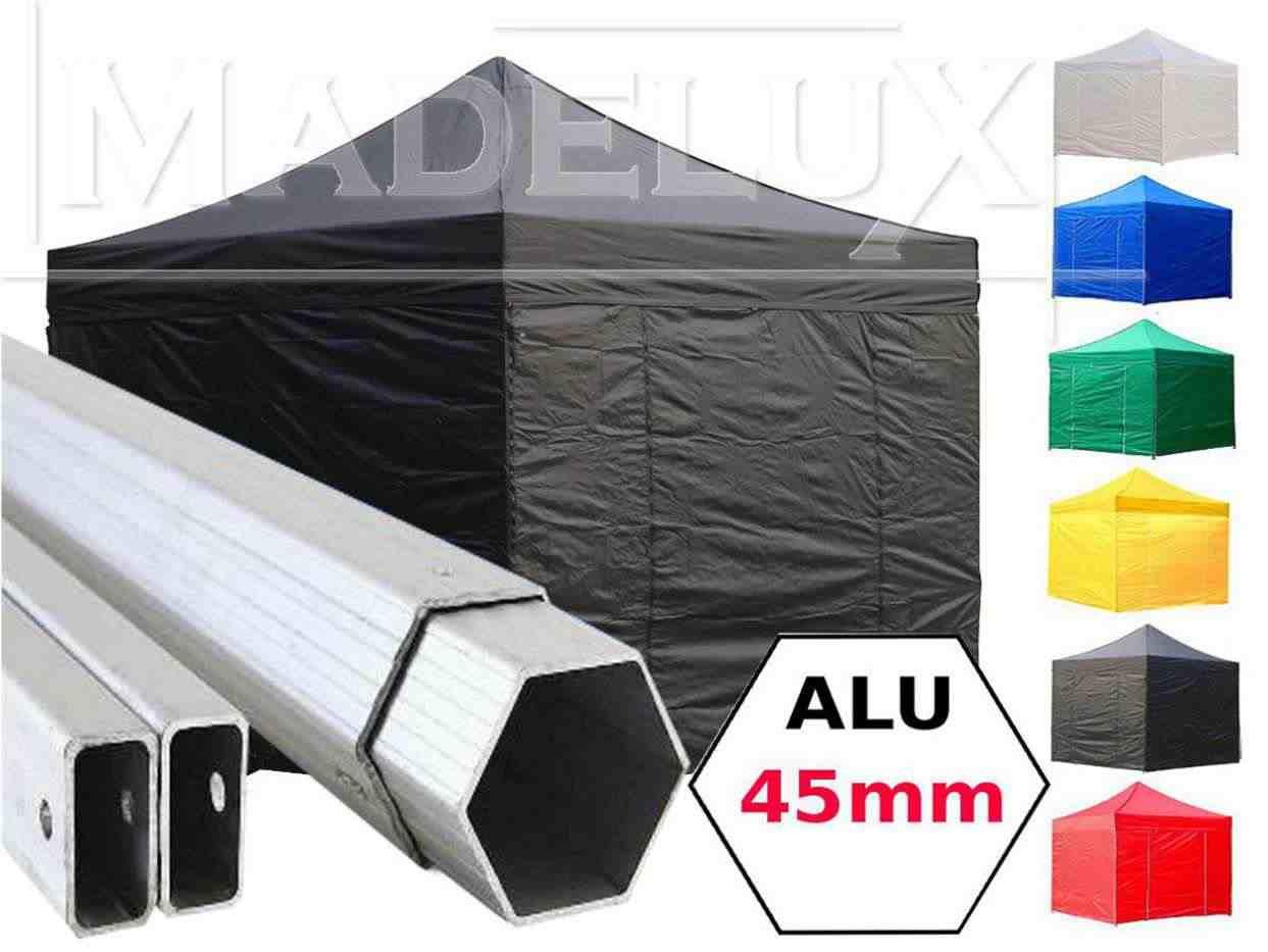 Stock Gazebo pieghevoli 3x3 Alluminio