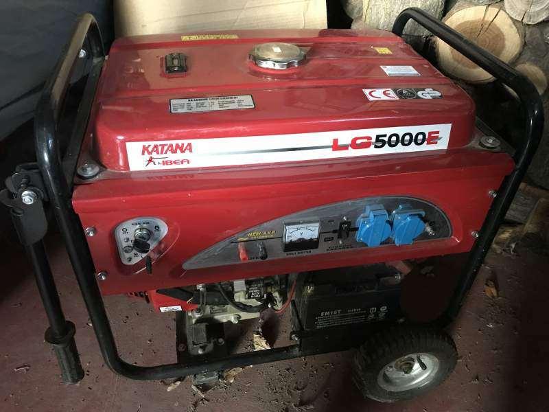 generatore elettrico monofase Diesel da 5.0 Kw.