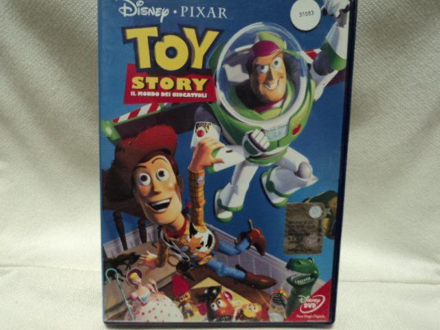 Toy Story- IL MONDO dei GIOCATTOLI in DVD