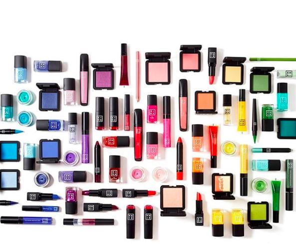 Stock prodotti make-up 3ina