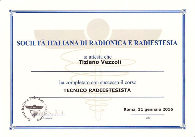 Operatore olisico, specializzato in trattamenti Reiki, radiestesia e radionica