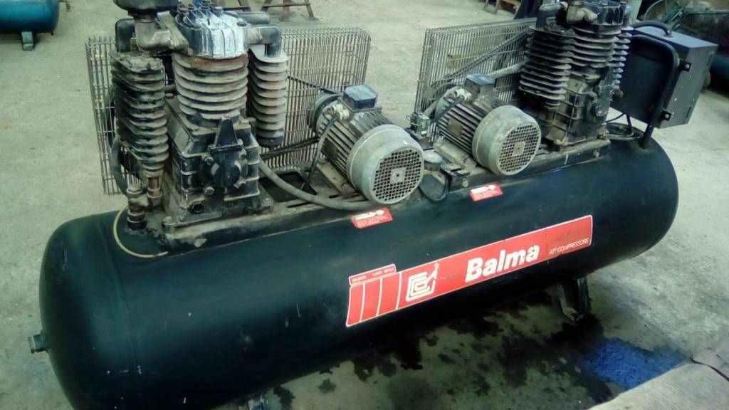 Compressore a Pistone 500 LT