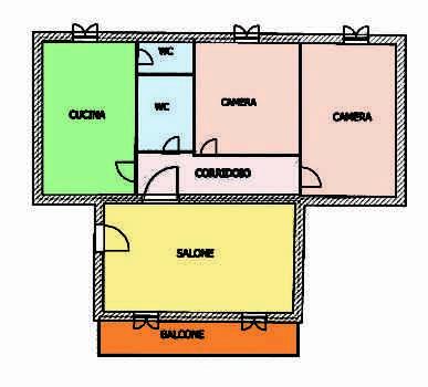 Appartamento 4 Camere con Balcone