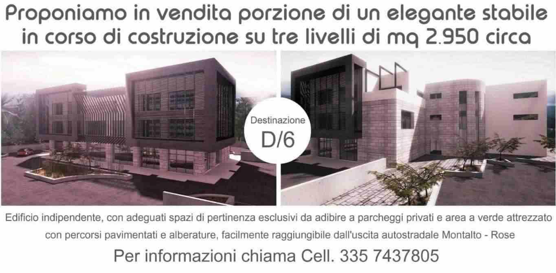 LOCALE COMMERCIALE FITTASI / VENDESI