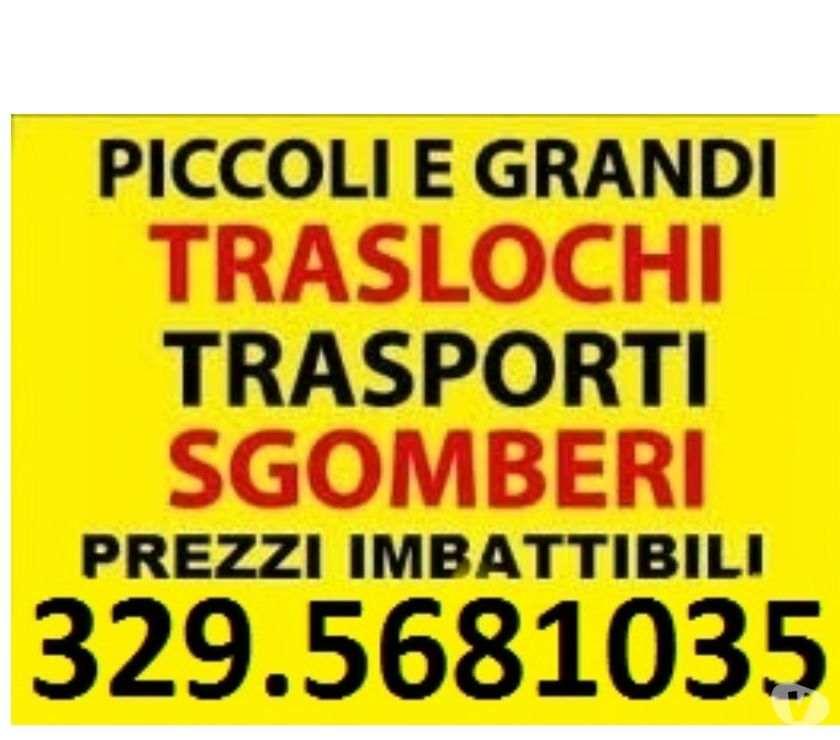 PICCOLI MEDI E GRANDI TRASPORTI TRASLOCHI E SGOMBERI ROMA-LAZIO-ITALIA 7GG SU7 A PREZZI UNICI