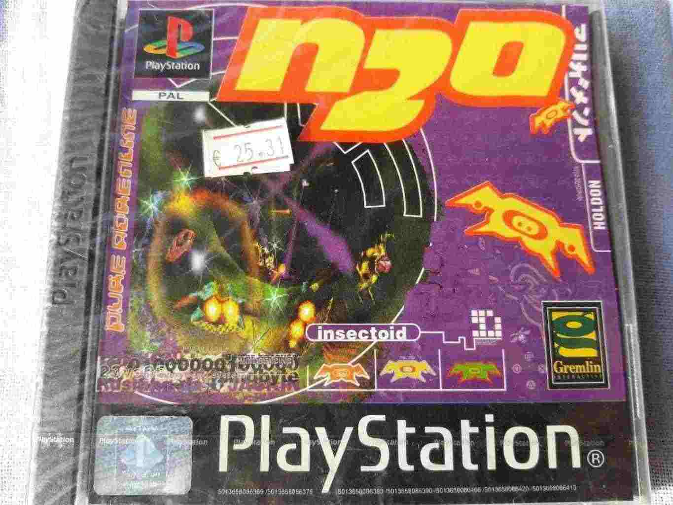 PlayStation PS1 PSOne PSX SONY PAL NUOVO N20 N2O SLES 00809
