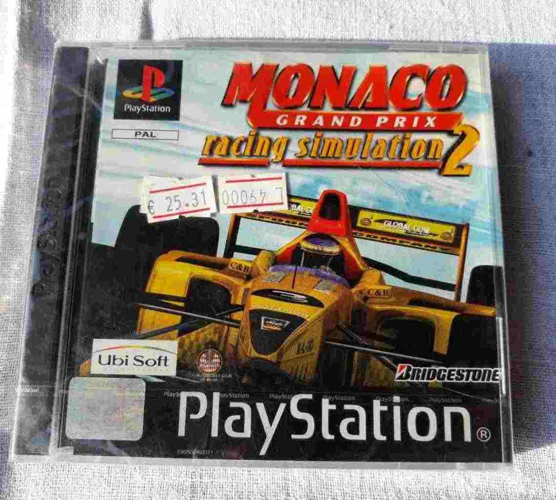 PlayStation PS1 PSOne PSX SONY PAL NUOVO MONACO Grand Prix Racing Simulation 2